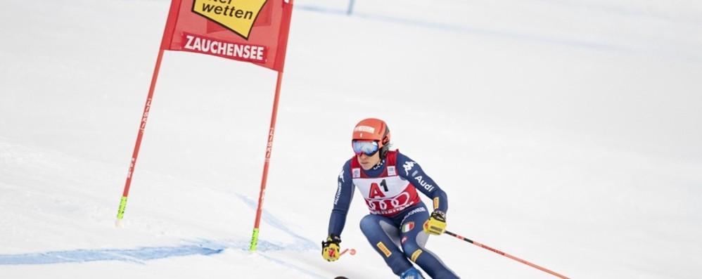 Austria, show azzurro: Brignone sul podio Fuori in combinata Sofia Goggia