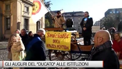 Bergamo - Gli auguri del Ducato alle autorità