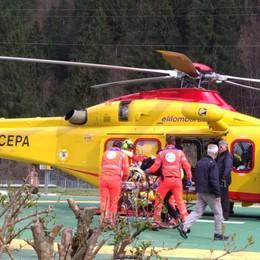 Incidenti a Isola di Fondra e Serina Due feriti mentre potano gli alberi