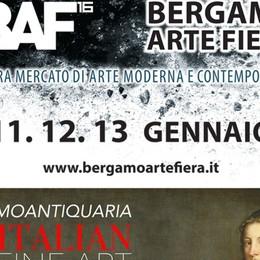 L'arte sbarca alla Fiera di Bergamo Due manifestazioni dall'11 al 19 gennaio