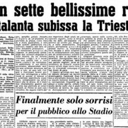 L'Atalanta ha fatto il record: mai in A due 5-0 di fila. Ma 67 anni fa... anche meglio
