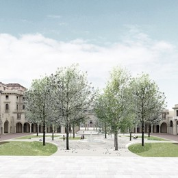 Nuova piazza Dante, via undici alberi «Ecco perché è una scelta necessaria»