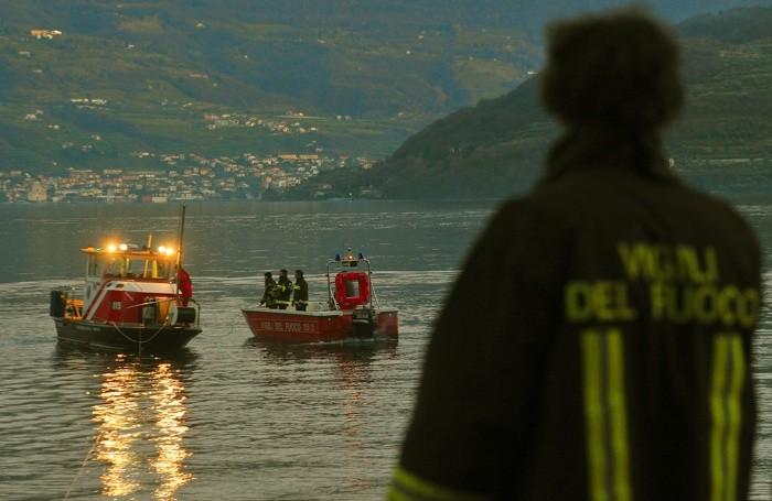 A Parzanica il lavoro dei vigili del fuoco