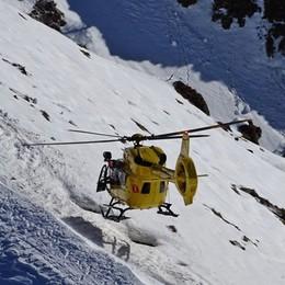 Piani di Bobbio, si stacca lastra di ghiaccio Escursionista precipita per cento metri