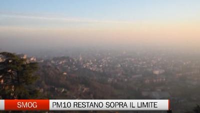 Rimane l'allarme smog  ma calano le polveri sottili