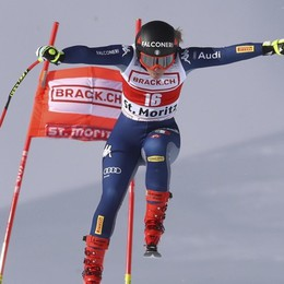 Sci, maltempo sulla Coppa del Mondo Sofia Goggia, gara spostata a domenica
