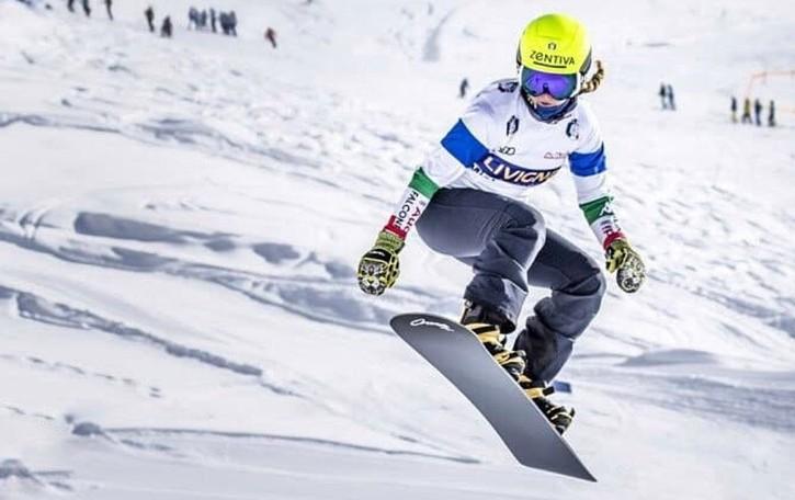 Snowboard, trionfo bergamasco Prima Michela Moioli, terza Belingheri