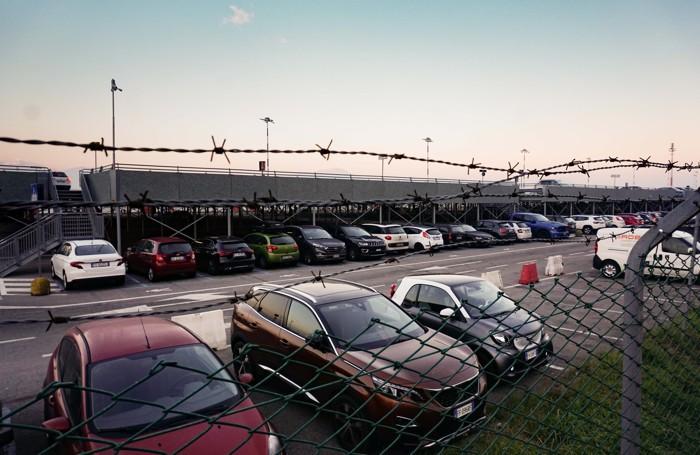 Il parcheggio P2 a Orio al Serio