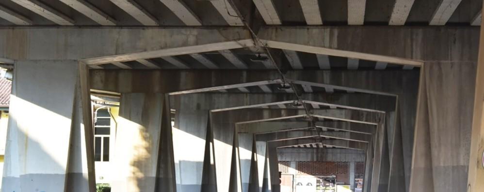 Boccaleone, lavori sotto il viadotto Dal 7 gennaio installazioni anti-sismiche