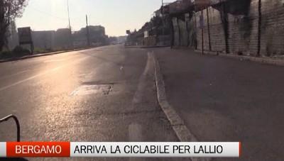 Ciclopedonali: in arrivo la Lallio-Bergamo