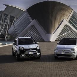 Fiat 500 e Panda diventano ibride