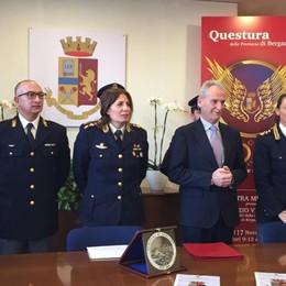 Meno furti, rapine e truffe nel 2019 I dati dell'anno della polizia di Bergamo