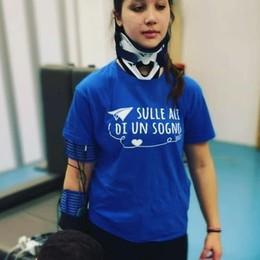 «Serve coraggio nelle difficoltà» Le parole di Letizia dopo l'intervento