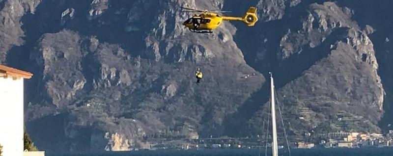 Tre sub in difficoltà nel lago d'Iseo Due salvi, soccorritori alla ricerca ...