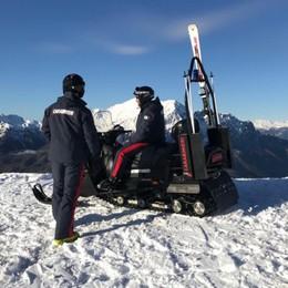 Comincia la stagione dello sci Presidi sulle piste anche dei carabinieri