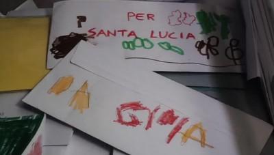Le letterine a Santa Lucia