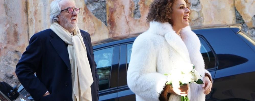 Matrimonio in stile «Colorado» E a Clusone arrivano i vip - Foto
