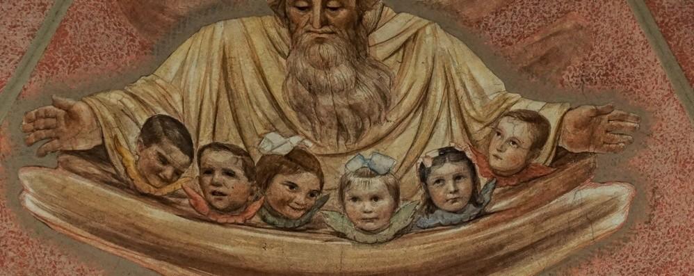 «Nell'affresco gli angeli siamo noi» Nei ritratti si riscoprono da bambini