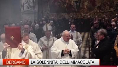 Bergamo, la solennità dell'Immacolata celebrata dal vescovo