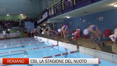 Csi, seconda prova del campionato di nuoto