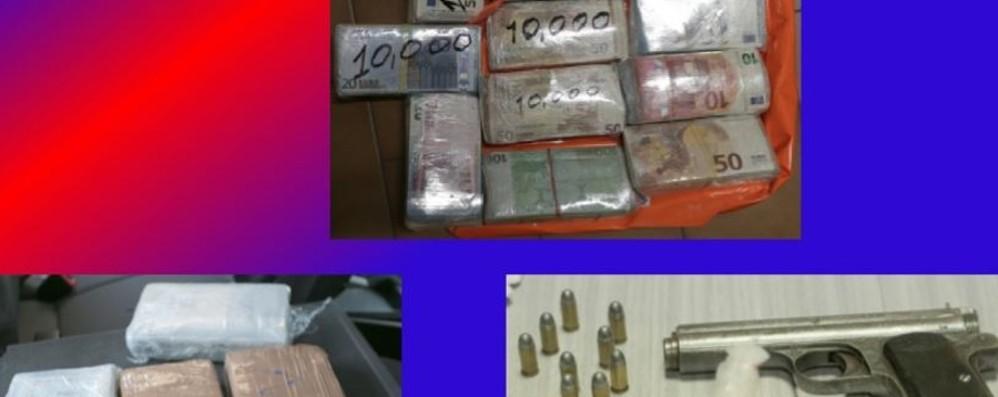 Operazione antidroga nella Bassa  - Video 15 arresti, trovati 300 mila euro in contanti