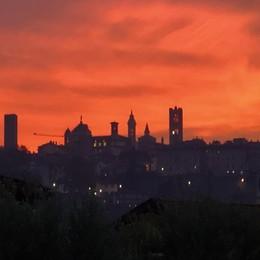 Rosso su Città Alta