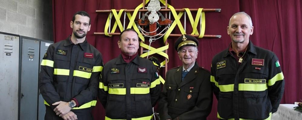 Vigile del fuoco, una passione di famiglia  Gli Oldoni, pompieri da tre generazioni