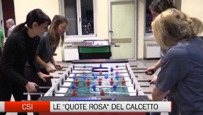 Csi - Le quote rosa del calcio balilla