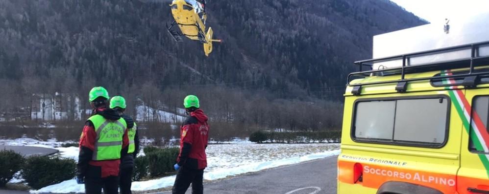Disperso un uomo in Val San Martino Ricerche sospese per il maltempo