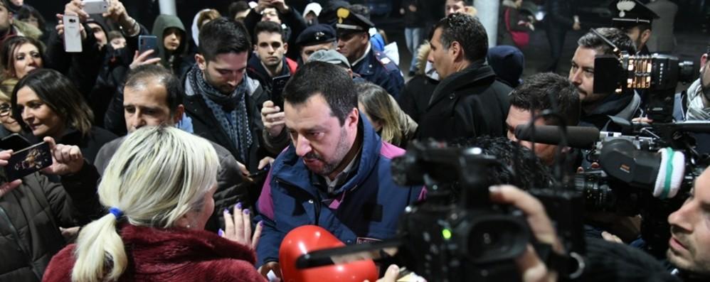 Salvini a Bergamo per scegliere l'anti-Gori Lega, toto nomi sul candidato sindaco