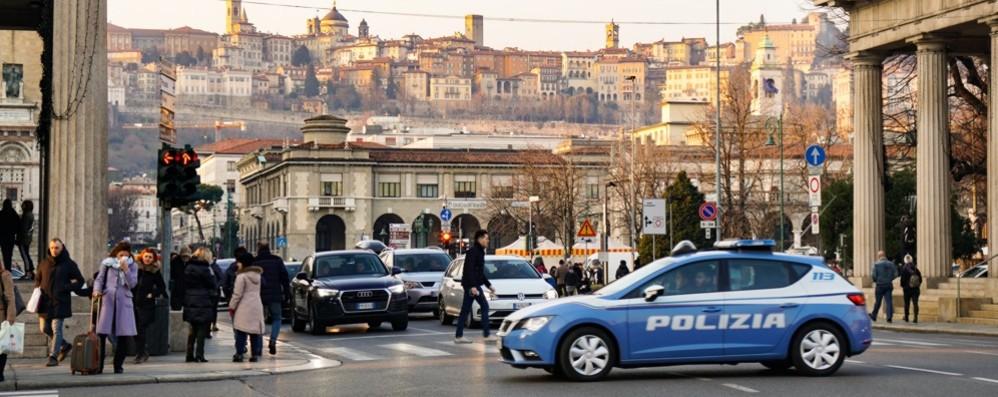 «Sicurezza, più agenti a Bergamo» Rinforzi in arrivo nei prossimi giorni
