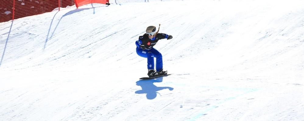 Snowboard, Moioli a caccia del mondiale Stasera tifo per la discesa negli Stati Uniti