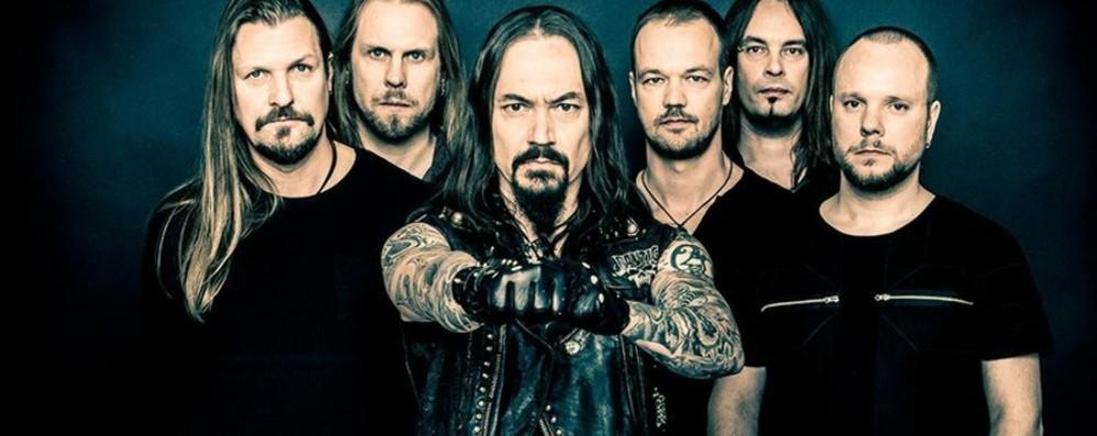 Gli Amorphis Al Live Club di Trezzo