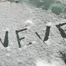 Nuova nevicata nelle valli - Le foto Con il vento, lunedì torna bello