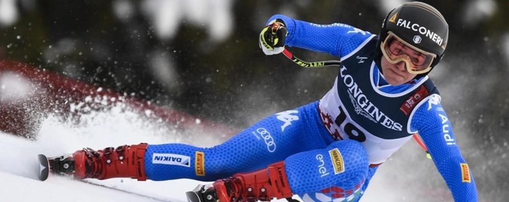 Sofia a tutta velocità nella storia «Grande sfida, da sciare senza errori»