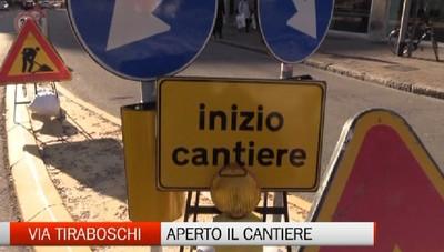 Partito il cantiere di via Tiraboschi a Bergamo