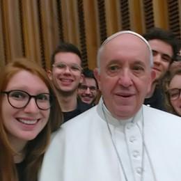 I giovani flauti di Treviglio in Vaticano E Papa Francesco chiede il bis