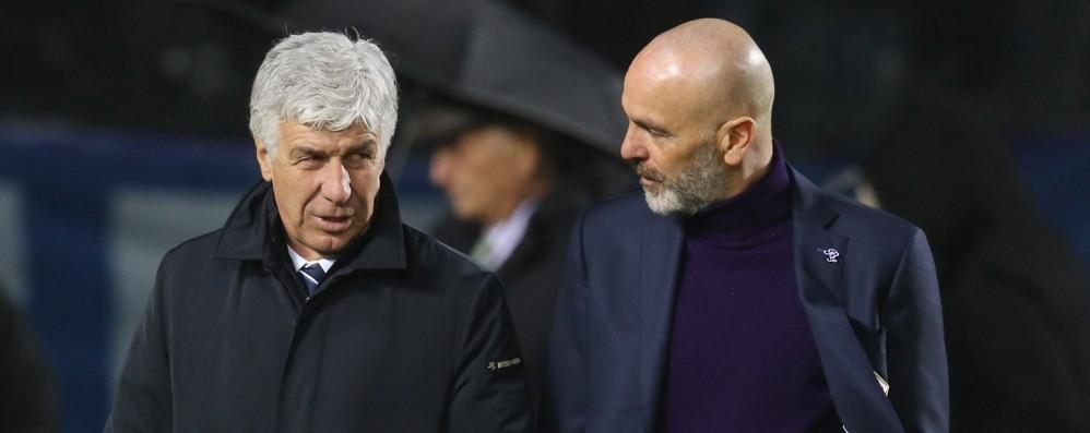 Fiorentina, lo sfogo di mister Pioli «Non c'è equità tra noi e l'Atalanta»