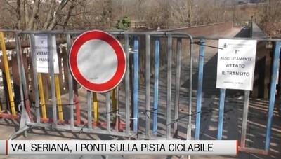Fiorano al Serio, lavori al via ad aprile  per il ponte sulla pista ciclabile