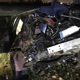 Tragedia a Dalmine, auto esce di strada Muore 19enne di Ubiale, altri tre feriti