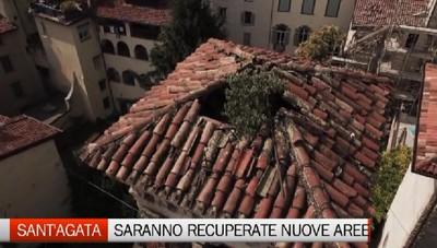 Il cantiere di Sant'Agata si allarga. Investiti altri fondi per recuperare il campanile e altre zone