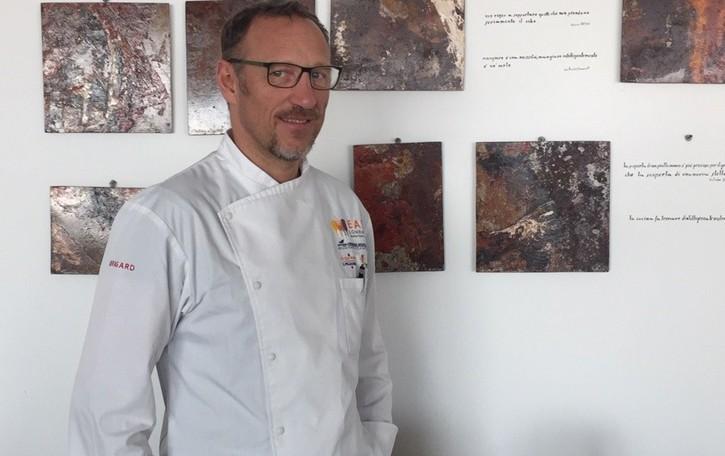Il tocco artistico dello chef Cornali  incoronato dagli «elettori» del web