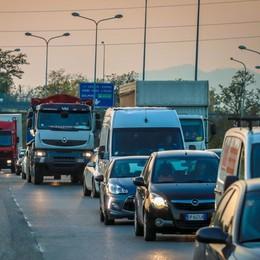 Scontro tra auto in superstrada a Seriate Quattro persone ferite, tra cui una 25enne