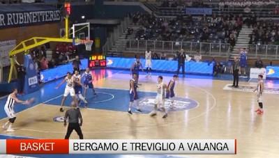 Basket, Bergamo e Treviglio a valanga