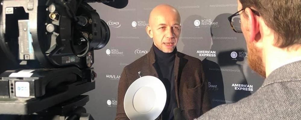 Camanini, chef bergamasco da Oscar Vince «The World Restaurant Awards»