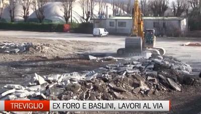 Treviglio - Cantieri al Foro Boario e all'ex Baslini