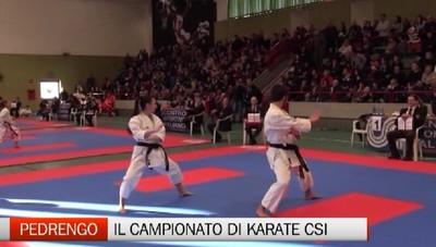 Csi -  A Pedrengo i campionati di karate