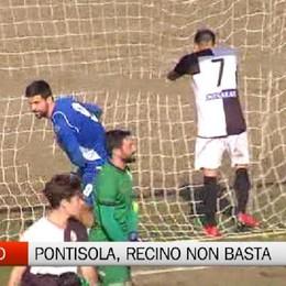 Serie D, i gol di Recino non bastano al Pontisola