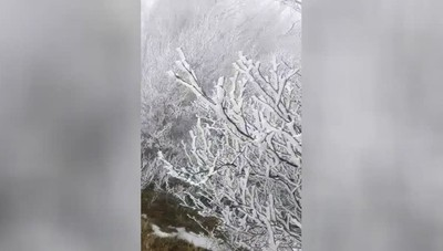 Effetto gelo sulle Orobie: -13C° in 24 ore
