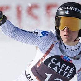 Sofia Goggia da sogno a Crans Montana È la regina delle nevi in Coppa del mondo